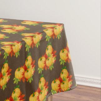 """Toalha De Mesa Folhas de outono do Tablecloth """"60x84""""/abóboras"""