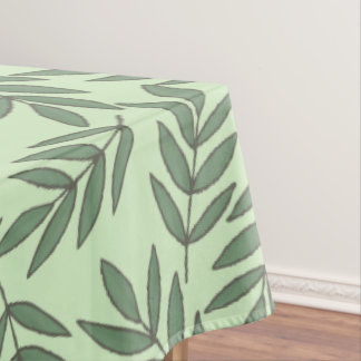 Toalha De Mesa Folhas verdes