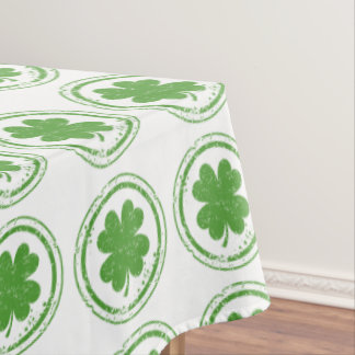 Toalha De Mesa Fonte-Tablecloth do partido do dia do St. Patricks