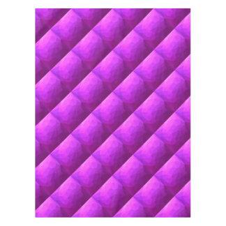 Toalha De Mesa Fundo do polígono do abstrato bizantino do roxo