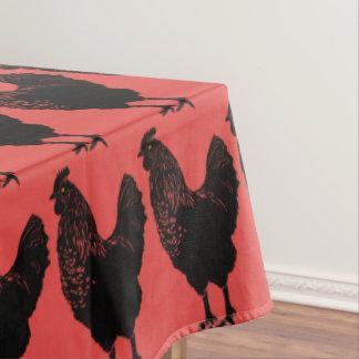 Toalha De Mesa Galinha vermelha