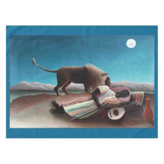 Toalha De Mesa Henri Rousseau o vintage aciganado do sono