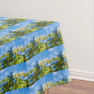 Toalha De Mesa Hortensia azul, tablecloth bonito