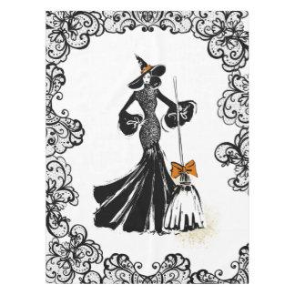 Toalha De Mesa ilustração da forma do Dia das Bruxas com laço