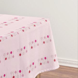 Toalha De Mesa Impressão cor-de-rosa da comida da padaria da