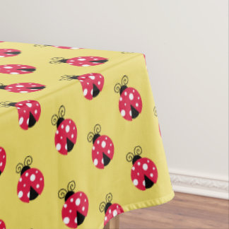 "Toalha De Mesa Joaninha do Tablecloth ""60x84"""