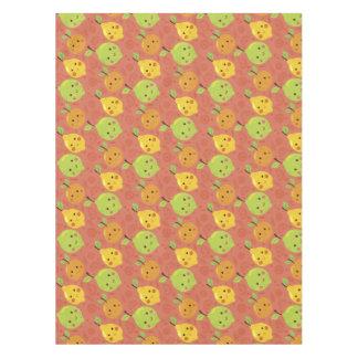 Toalha De Mesa Laranja bonita bonito, limão e limão dos desenhos