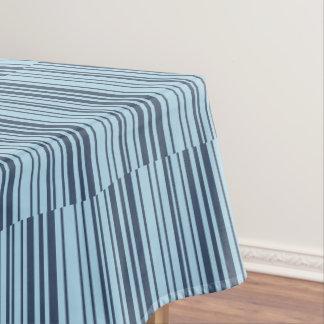 Toalha De Mesa Listras azuis da terra na moda