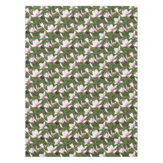 Toalha De Mesa Magnólia cor-de-rosa de florescência (Tulpenbaum)
