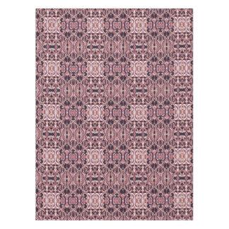 Toalha De Mesa Mão abstrata teste padrão tirado. Cores violetas