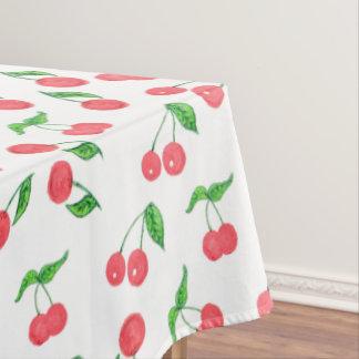 Toalha De Mesa mão bonito teste padrão tirado da cereja da