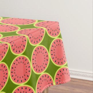 Toalha De Mesa Meio cor-de-rosa do tablecloth da melancia multi