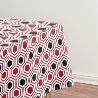 Toalha De Mesa Mel preto vermelho