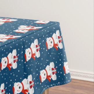 Toalha De Mesa Natal Snowbear