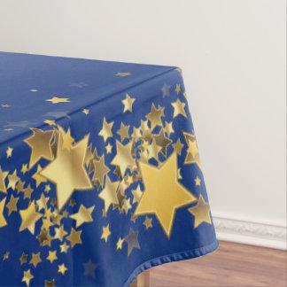 Toalha De Mesa O feriado Stars azuis marinhos do Tablecloth