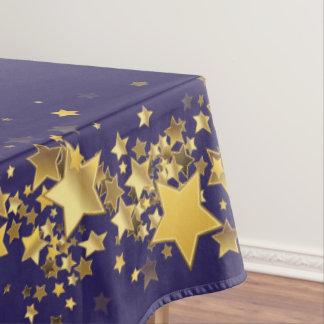 "Toalha De Mesa O feriado Stars o roxo do Tablecloth ""60x84"" -"