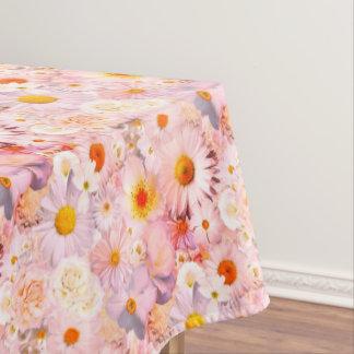 Toalha De Mesa O rosa floresce o primavera nupcial do casamento