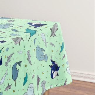 Toalha De Mesa Oceano no verde
