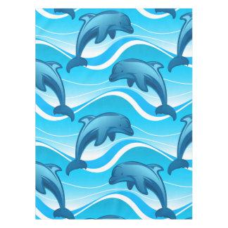 Toalha De Mesa Ondas de salto do golfinho