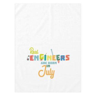 Toalha De Mesa Os engenheiros são em julho Z6n9z nascidos