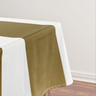 Toalha De Mesa Ouro & teste padrão geométrico das listras do