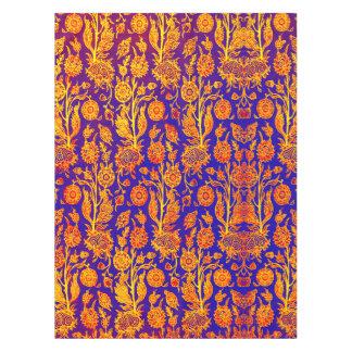 Toalha De Mesa Pano de mesa azul vermelho floral Resplendent do