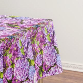 Toalha De Mesa Pano de mesa bonito do hortensia violeta