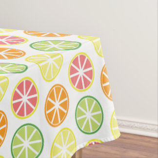 Toalha De Mesa Pano de mesa do teste padrão do citrino