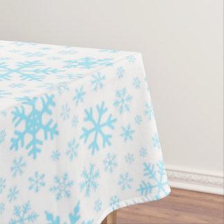 Toalha De Mesa Pano de mesa dos flocos de neve