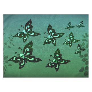 Toalha De Mesa Pano de mesa - Skullerflies no jardim