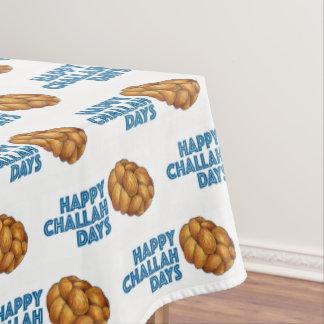 Toalha De Mesa Pão judaico feliz de Hanukkah Chanukah dos dias do