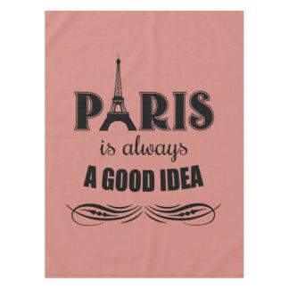 Toalha De Mesa Paris é sempre uma boa ideia