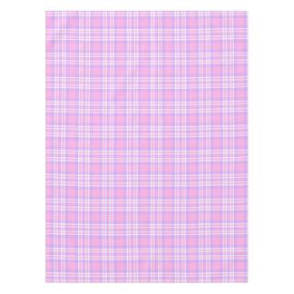 Toalha De Mesa Páscoa roxa cor-de-rosa do primavera do guingão da