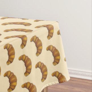 Toalha De Mesa Pastelaria francesa amanteigada crescente do pão