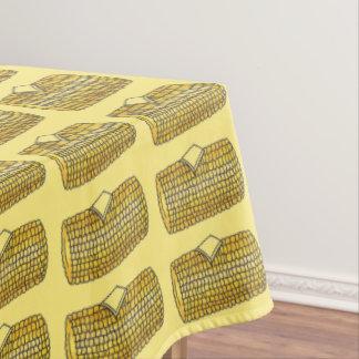 Toalha De Mesa Piquenique amarelo da manteiga do Corncob da