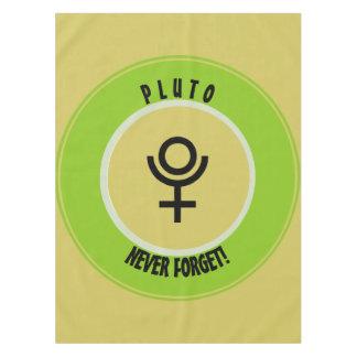 Toalha De Mesa Pluto, nunca esquece