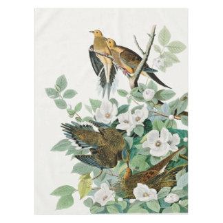Toalha De Mesa Pomba da tartaruga de Carolina, pássaros de
