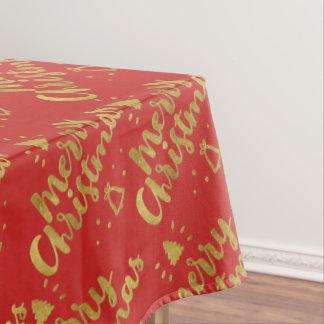 Toalha De Mesa Presentes adoráveis do Feliz Natal |