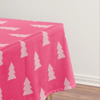 Toalha De Mesa Rosa pastel e quente do teste padrão bonito da