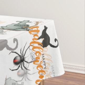 Toalha De Mesa Sepultura da aranha do Dia das Bruxas