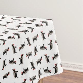 Toalha De Mesa Tablecloth alegre de Gentoos (escolha a cor)