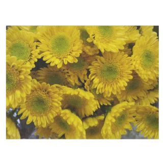 Toalha De Mesa Tablecloth amarelo ensolarado feliz do impressão