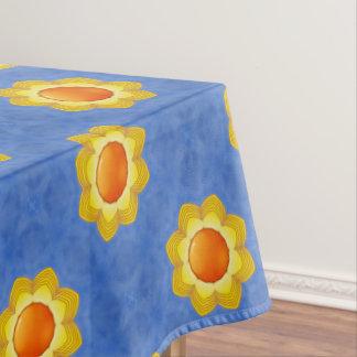 Toalha De Mesa Tablecloth colorido do algodão do dia ensolarado