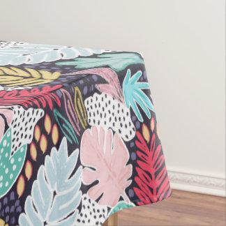 Toalha De Mesa Tablecloth colorido do marinho da colagem de