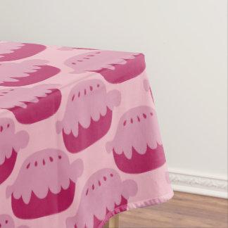 Toalha De Mesa Tablecloth cor-de-rosa bonito do teste padrão da