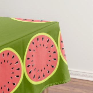 Toalha De Mesa Tablecloth cor-de-rosa da beira da melancia grande