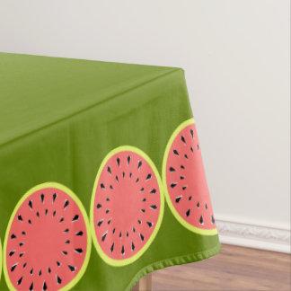 Toalha De Mesa Tablecloth cor-de-rosa da melancia pequeno