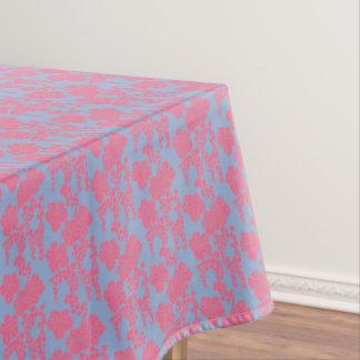 Toalha De Mesa Tablecloth cor-de-rosa & roxo do impressão floral
