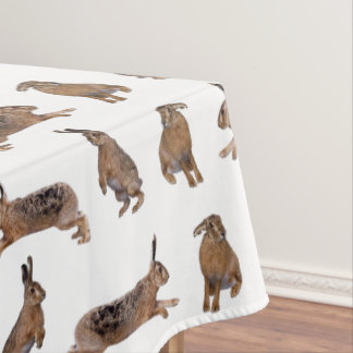 Toalha De Mesa Tablecloth da agitação da lebre (escolha a cor)