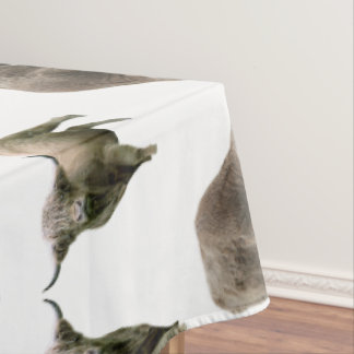 Toalha De Mesa Tablecloth da agitação da vaca das montanhas